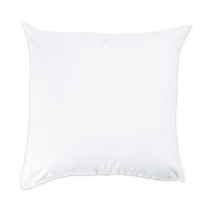 Premium 100percent Cotton Cover Bounce Back Cushion Pad - 18x18 Inches