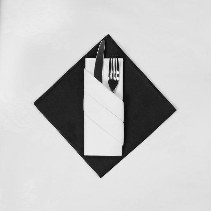 Damask Rose Napkins - 100percent Polyester