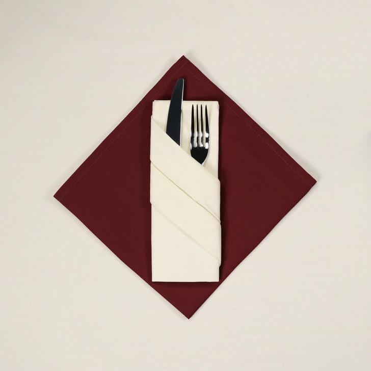 Plain Napkins - 100percent Polyester