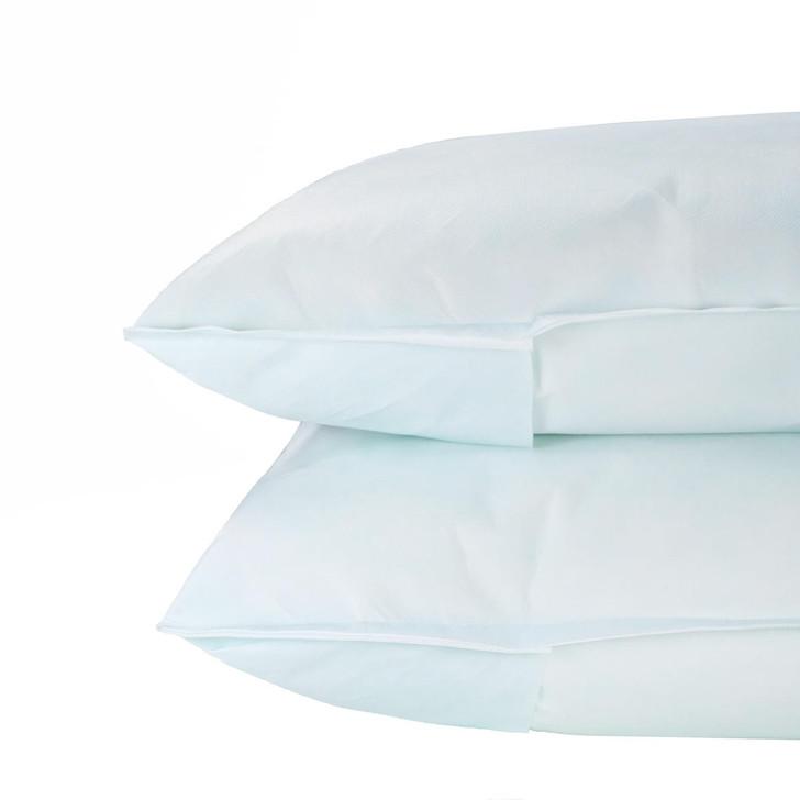 Waterproof FR Pillow Protectors Green Tint