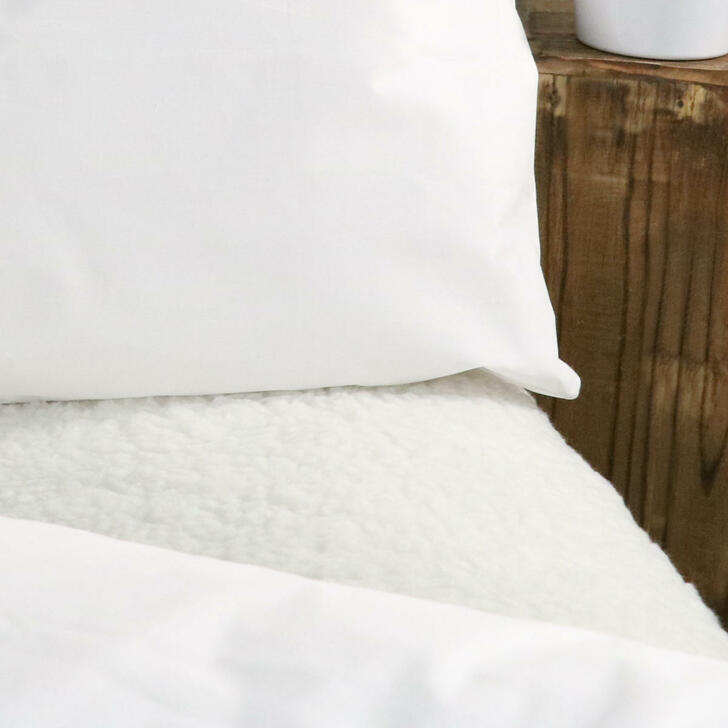 Fleece Under Blanket