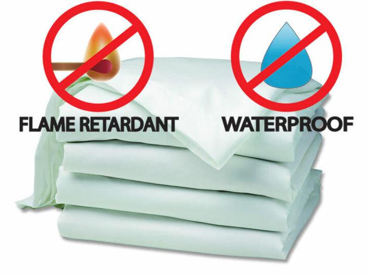 Waterproof FR Green Tint Mattress protector Best Quality