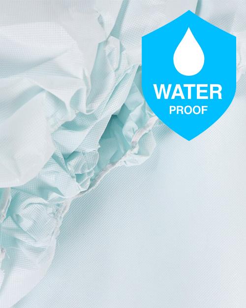 Waterproof FR Green Tint Mattress protector