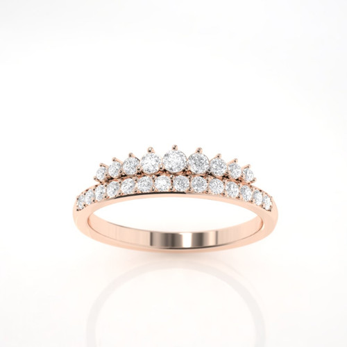 Diamond ring. Diamond eternity ring. Wedding ring. Diamond engagement ring. 14K / 18K or Platinum.