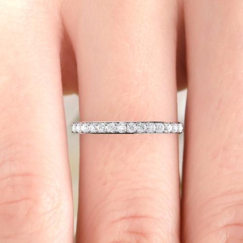 Wedding ring. Diamond wedding ring. Diamond eternity. 14K / 18K / Platinum.