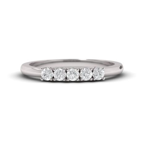 Diamond eternity. Wedding ring. 14K / 18K / Platinum.