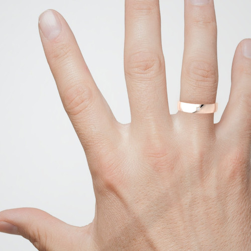 Wedding ring. Mens wedding ring. Diamond wedding ring. 5mm wide. Available in 9K, 14K, 18K, Platinum
