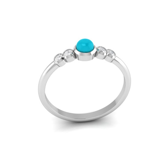 Turquoise and diamond ring. Engagement ring. Diamond engagement ring. Turquoise ring.