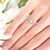 opal ring displayed on a finger