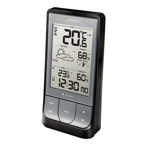 Bluetooth Low Energy Weather Station with Temperature, Humidity & Weather Forecast