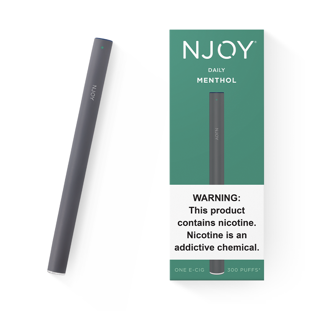 DAILY Flavors: Menthol | NJOY