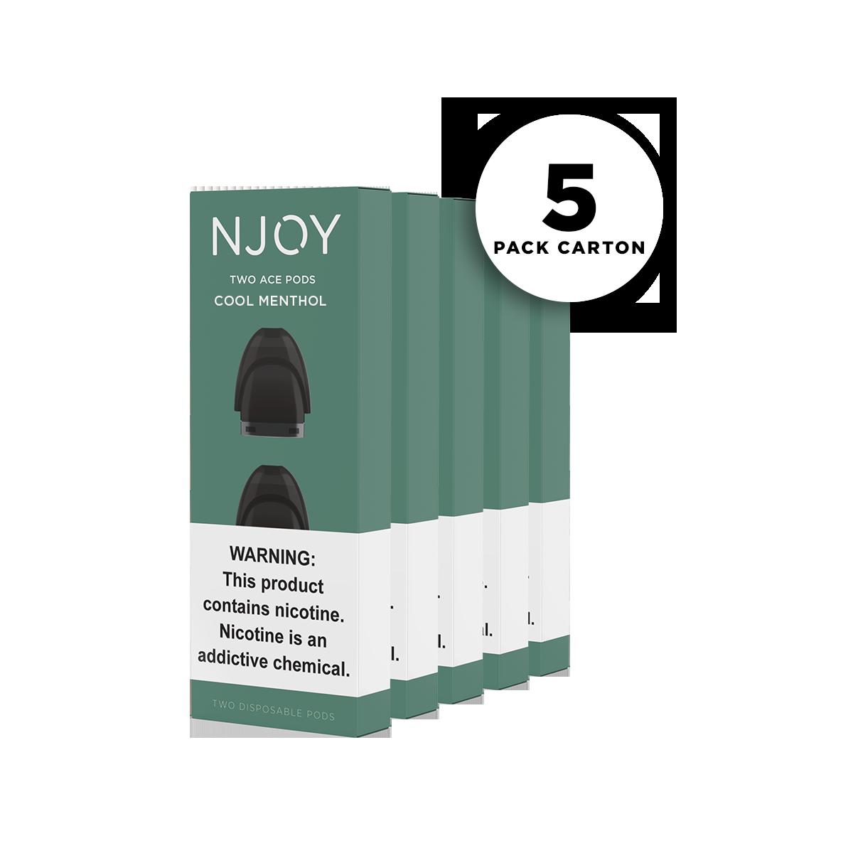 NJOY ACE PODS: Mint 5-Pack Carton