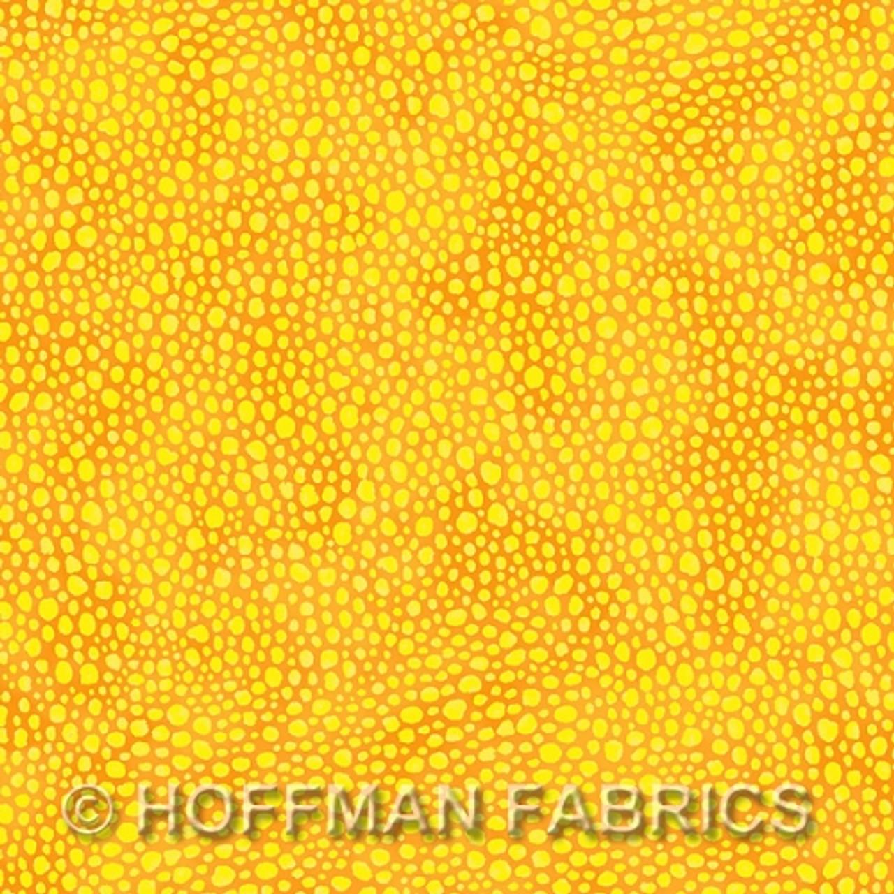 Hoffman Fabrics - Bliss Blenders - Gold