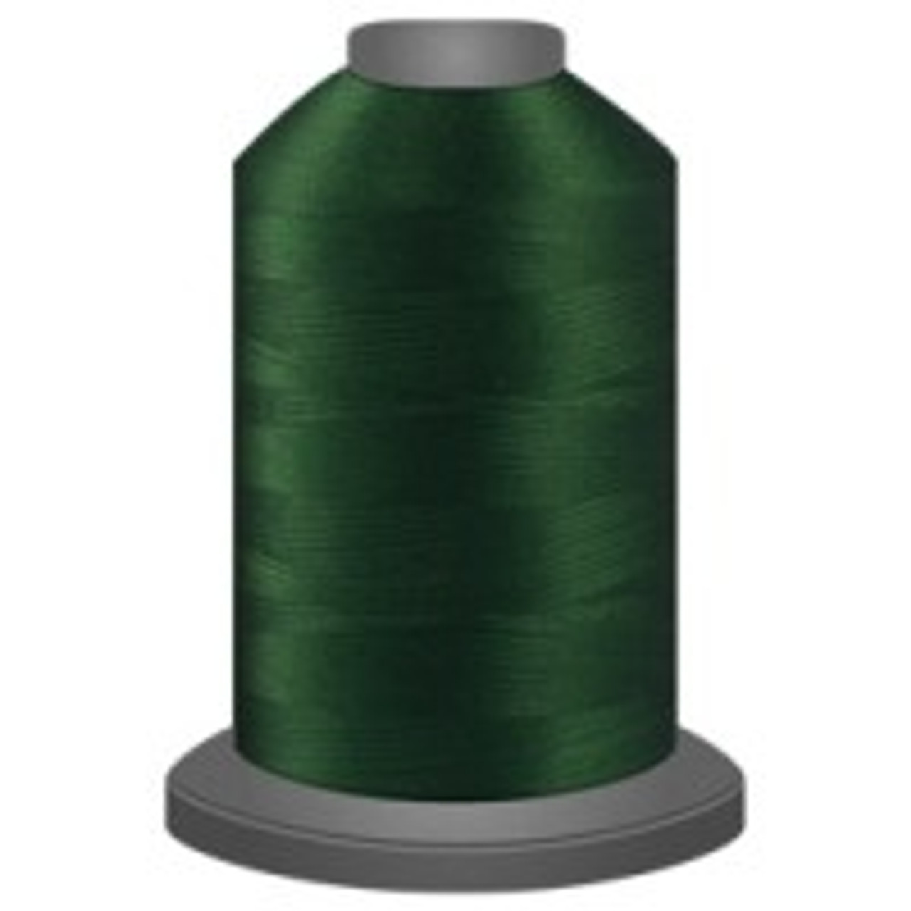 Jade - Polyester - Thread - Trilobal - Glide - 40 wt This thread is strong and maintains consistent tension.  This results in less thread breakage, consistent stitch formation, resulting in fewer machine stops.  Made from colorfast polyester. Complete and uniform fill, provides a beautiful look, as if the thread melts into the fabric. Glide runs virtually lint free through your machine's tensioners and needle. Mini Spool - 40 wt - 1100 yds King Spool - 40 wt - 5500 yds Available in 269 colors.