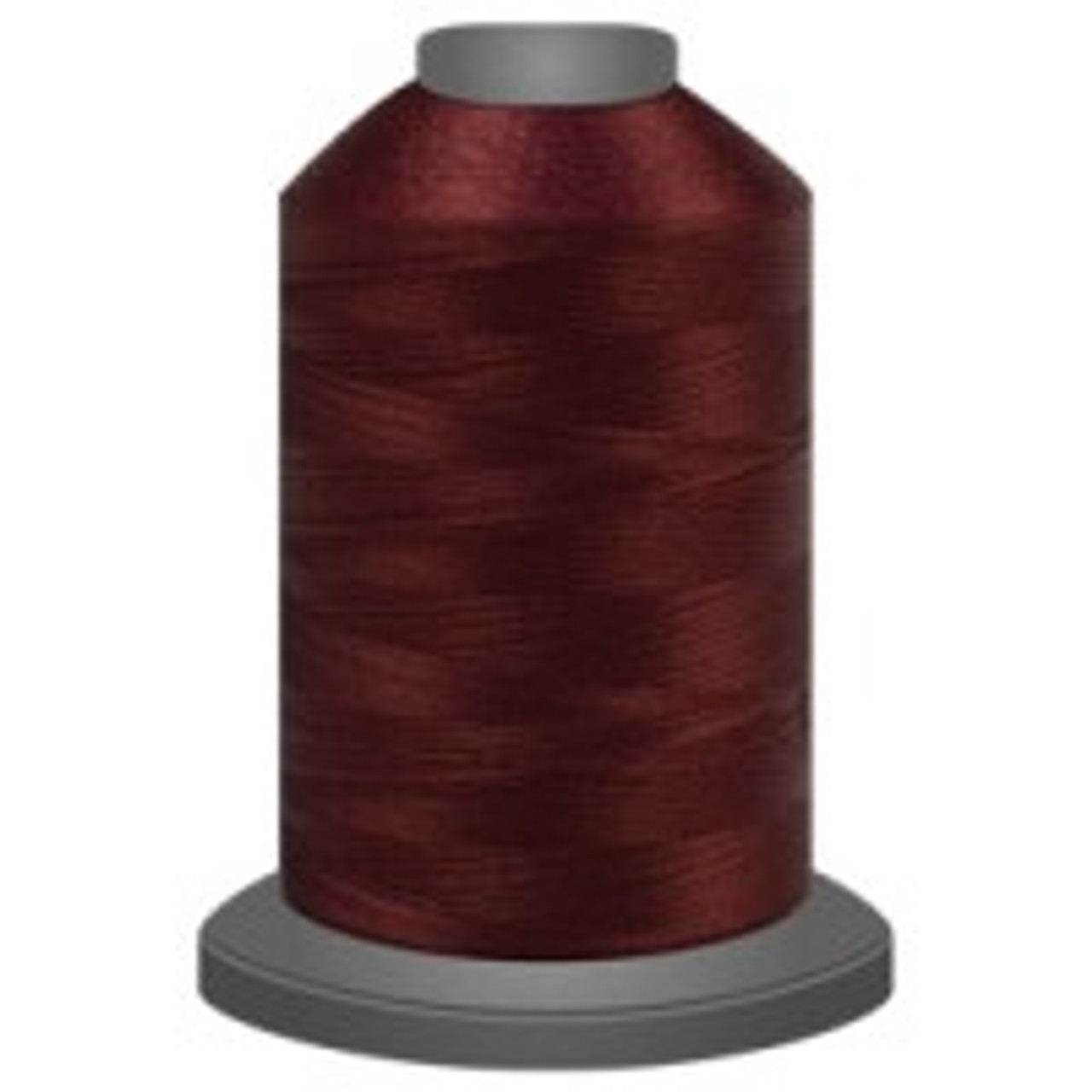 Cabernet - Polyester - Thread - Trilobal - Glide - 40 wt This thread is strong and maintains consistent tension.  This results in less thread breakage, consistent stitch formation, resulting in fewer machine stops.  Made from colorfast polyester. Complete and uniform fill, provides a beautiful look, as if the thread melts into the fabric. Glide runs virtually lint free through your machine's tensioners and needle. Mini Spool - 40 wt - 1100 yds King Spool - 40 wt - 5500 yds Available in 269 colors.