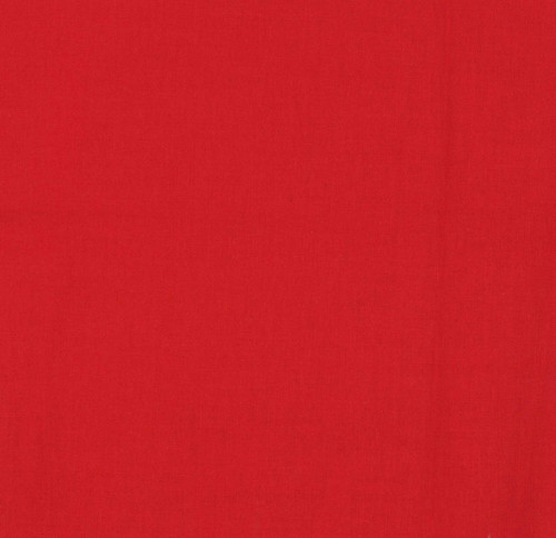 Classic Red - Oasis Solids - Fabric - 100% Cotton 44/45″ wide 100% US Grown Cotton