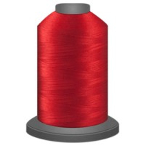 Cardinal - Polyester - Thread - Trilobal - Glide - 40 wt This thread is strong and maintains consistent tension.  This results in less thread breakage, consistent stitch formation, resulting in fewer machine stops.  Made from colorfast polyester. Complete and uniform fill, provides a beautiful look, as if the thread melts into the fabric. Glide runs virtually lint free through your machine's tensioners and needle. Mini Spool - 40 wt - 1100 yds King Spool - 40 wt - 5500 yds Available in 269 colors.