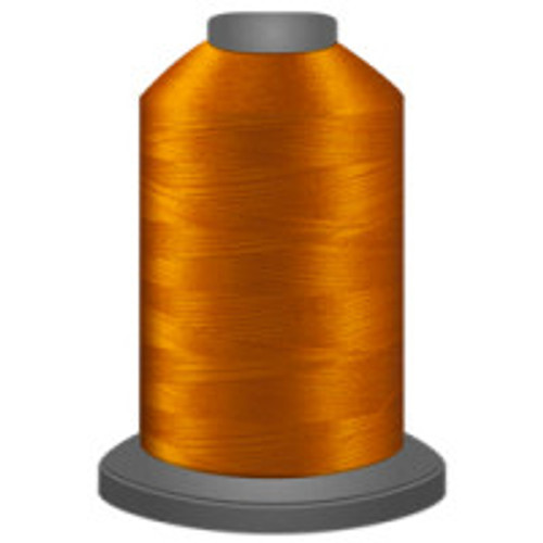 Bronze - Polyester - Thread - Trilobal - Glide - 40 wt This thread is strong and maintains consistent tension.  This results in less thread breakage, consistent stitch formation, resulting in fewer machine stops.  Made from colorfast polyester. Complete and uniform fill, provides a beautiful look, as if the thread melts into the fabric. Glide runs virtually lint free through your machine's tensioners and needle. Mini Spool - 40 wt - 1100 yds King Spool - 40 wt - 5500 yds Available in 269 colors.
