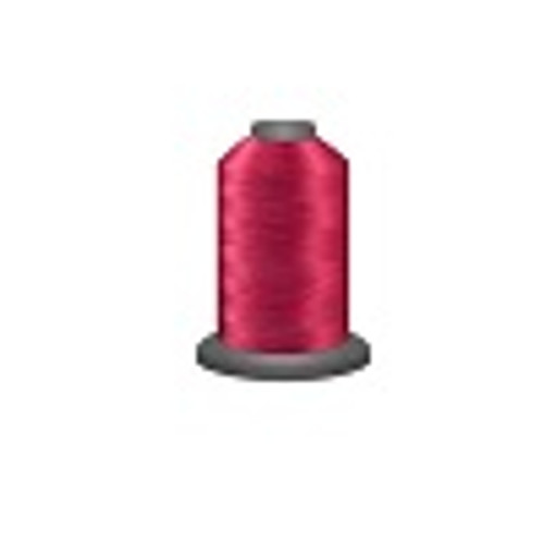 Blossom - Polyester - Thread - Trilobal - Glide - 40 wt This thread is strong and maintains consistent tension.  This results in less thread breakage, consistent stitch formation, resulting in fewer machine stops.  Made from colorfast polyester. Complete and uniform fill, provides a beautiful look, as if the thread melts into the fabric. Glide runs virtually lint free through your machine's tensioners and needle. Mini Spool - 40 wt - 1100 yds King Spool - 40 wt - 5500 yds Available in 269 colors.