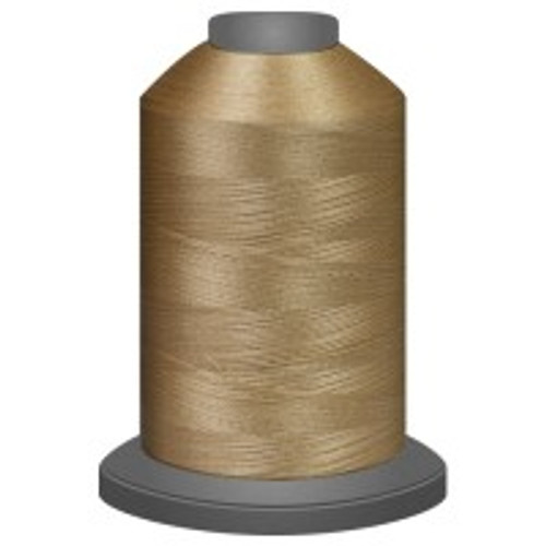 Biscotti - Polyester - Thread - Trilobal - Glide - 40 wt This thread is strong and maintains consistent tension.  This results in less thread breakage, consistent stitch formation, resulting in fewer machine stops.  Made from colorfast polyester. Complete and uniform fill, provides a beautiful look, as if the thread melts into the fabric. Glide runs virtually lint free through your machine's tensioners and needle. Mini Spool - 40 wt - 1100 yds King Spool - 40 wt - 5500 yds Available in 269 colors.