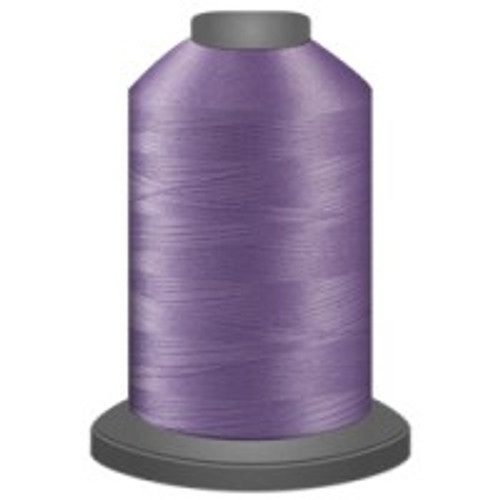 Amethyst - Polyester - Thread - Trilobal - Glide - 40 wt This thread is strong and maintains consistent tension.  This results in less thread breakage, consistent stitch formation, resulting in fewer machine stops.  Made from colorfast polyester. Complete and uniform fill, provides a beautiful look, as if the thread melts into the fabric. Glide runs virtually lint free through your machine's tensioners and needle. Mini Spool - 40 wt - 1100 yds King Spool - 40 wt - 5500 yds Available in 269 colors.