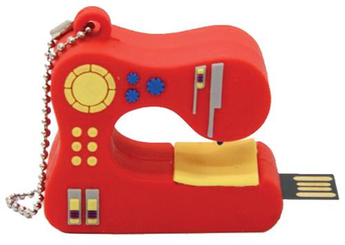 USB - 2GB - Red Sewing Machine