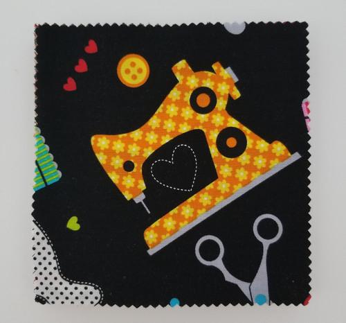 """Made With Love - 5"""" Squares - 42 pieces - Cotton - Benartex"""