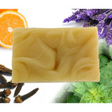 Honeybee Gardens Orange Patchouli Lavender Clove Vegan Soap