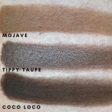 Mojave, Tippy Taupe, Coco Loco