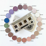 Refillable Pressed Eye Shadow Compact