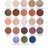 Pressed Eye Shadow Single Swatches