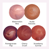 Tinted Lip Balm Swatches