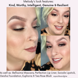 Makeup Look by Melody Martorana  featuring Kind, Worthy, Intelligent, Genuine & Resilient