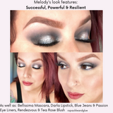 Makeup Look by Melody Martorana  featuring Successful, Powerful & Resilient