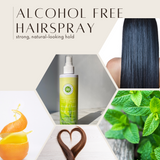Herbal Mint Alcohol Free Hair Spray by Honeybee Gardens