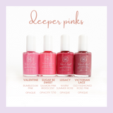 Honeybee Gardens WaterColors Nail Enamel (deep pinks)