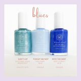 Honeybee Gardens WaterColors Nail Enamel (blues)