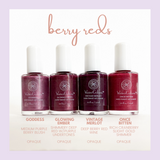 Honeybee Gardens WaterColors Nail Enamel (berry reds)