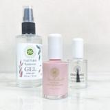 Endure Primer/Sealer, Nail Polish Remover Gel, Twice Shy WaterColors