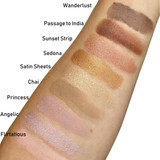 PowderColors Stackable Mineral Colors Swatches
