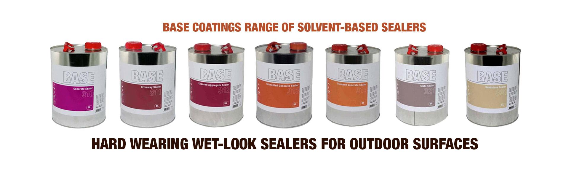 Solvent Based Sealers