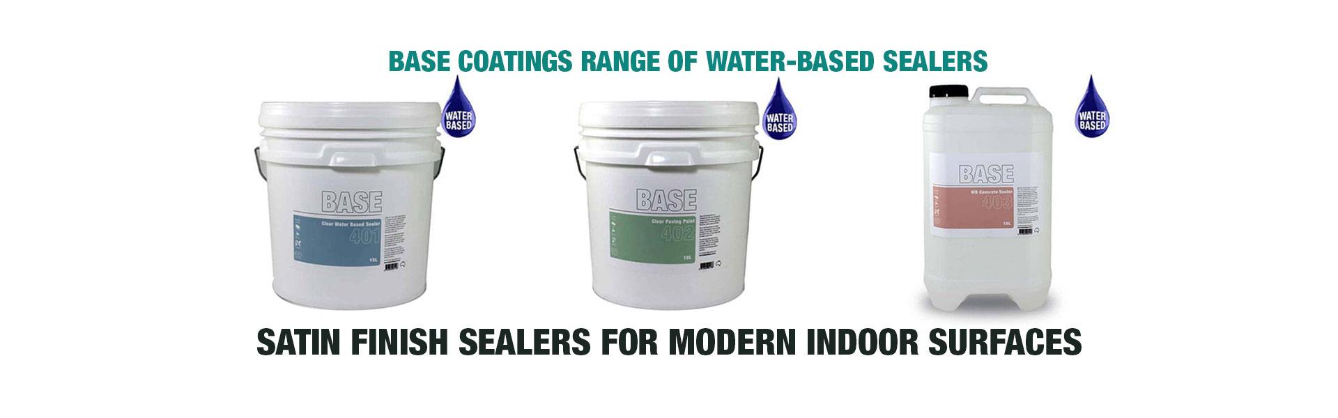 Water-Based Sealers