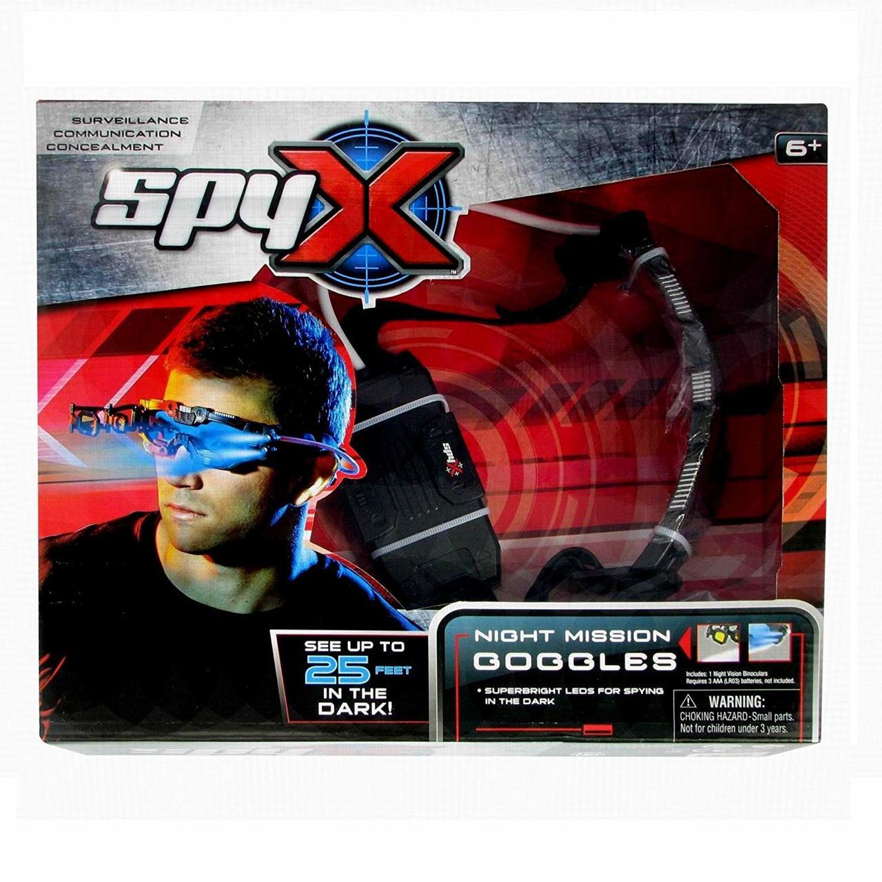 68bf9785240fc Spy X Night Mission Goggles - International Spy Museum Store