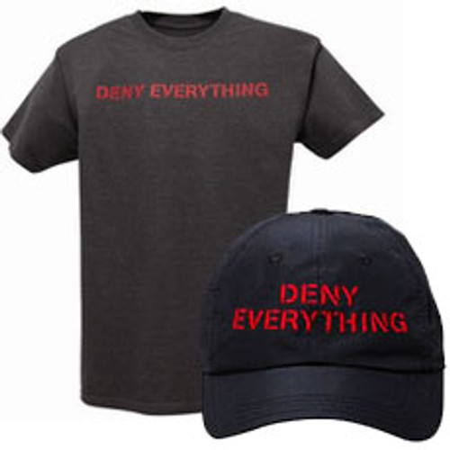 Deny Everything Cap & Tee Set (Spy Museum Exclusive)