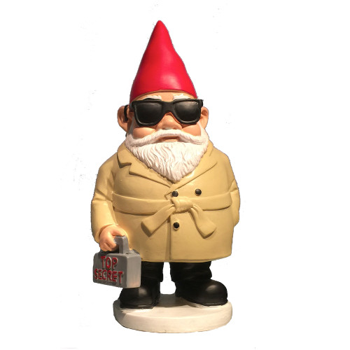 Agent You Don't Gnome Me (Spy Museum Exclusive)