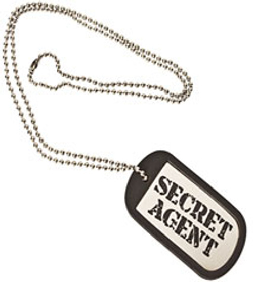 Secret Agent Dog Tag (Spy Museum Exclusive)