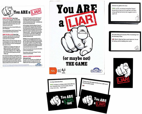 You Are A Liar - Fact Or Fiction Guessing Party Game