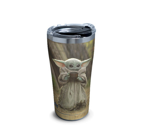 Baby Yoda Sipping Tervis