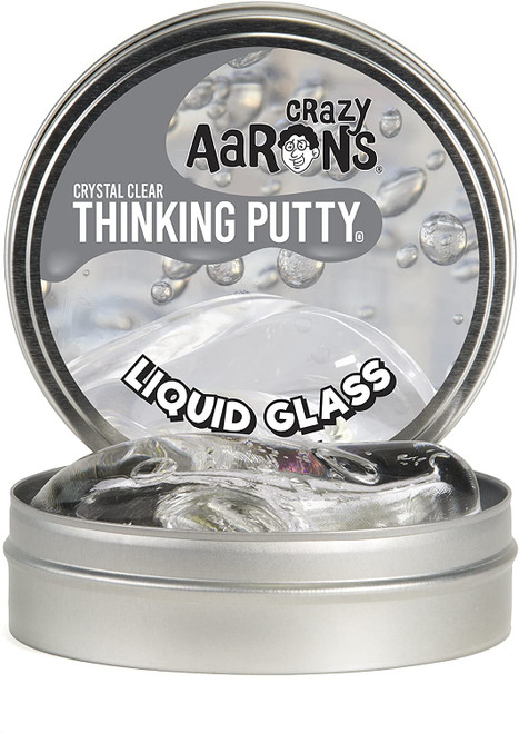 crazy aaron; liquid; puddy; liquid glass; slime; thinking puddy;