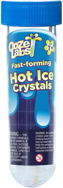 sodium acetate crystals; ooze labs; magic labs; science; science kits;
